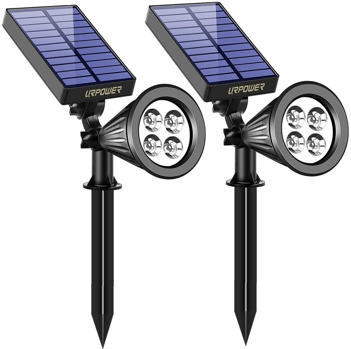 URPOWER 2-in-1 Solar Lights with LED