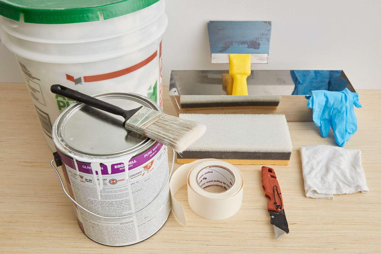 tools for repairing drywall holes