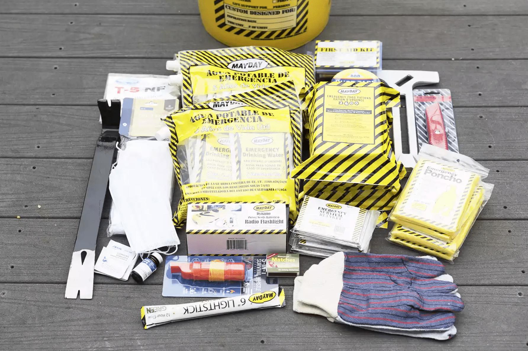 Mayday Emergency Kit