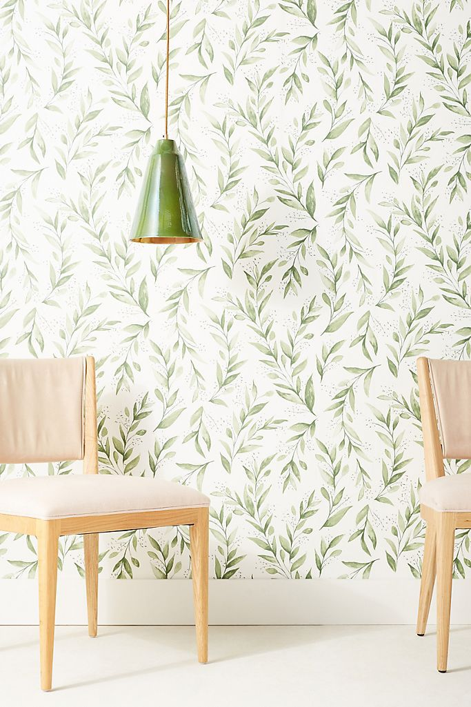 Magnolia Home by Joanna Gaines Olive Branch Peel-and-Stick Wallpaper