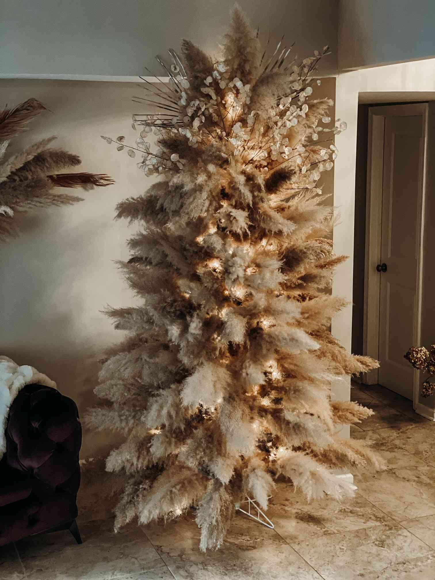 Laura Wilson's boho dreams Christmas tree