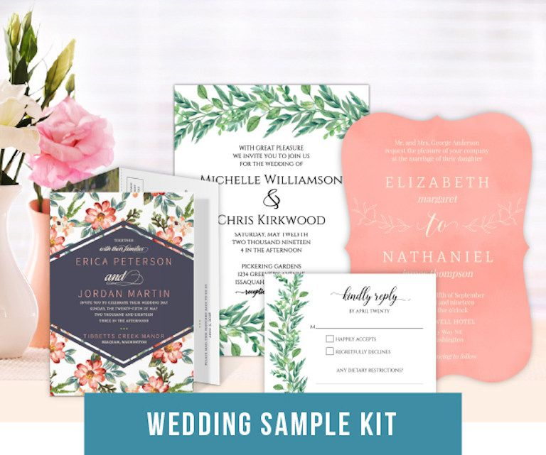 Free Sample Wedding Invites: Where To Request Free Wedding Invitation Samples