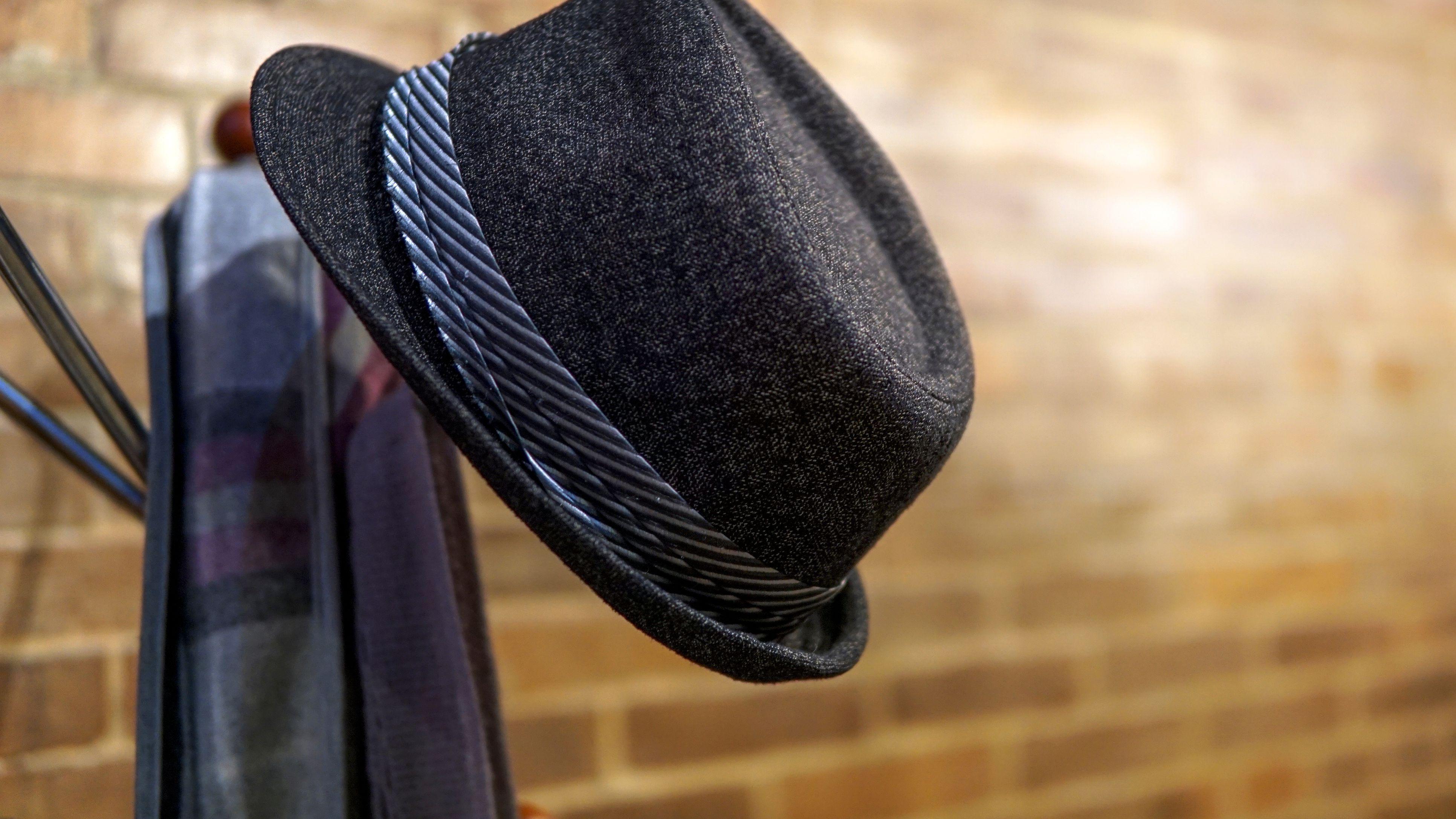 Great Garen Shed Wall Decor! Woven Hat Vintage Floppy Garden Hat with Blue Grosgrain Ribbon