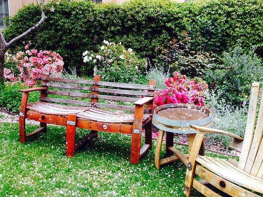 15 Garden Bench Ideas For Your Backyard, Decorative Garden Benches Mini