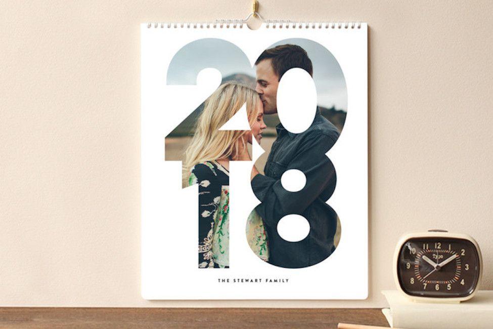 Calendar Wedding Guest Book