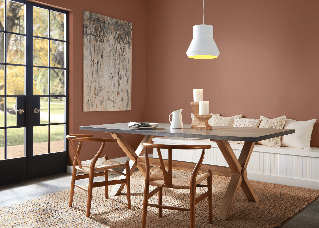 Perfect Penny paint color by BEHR