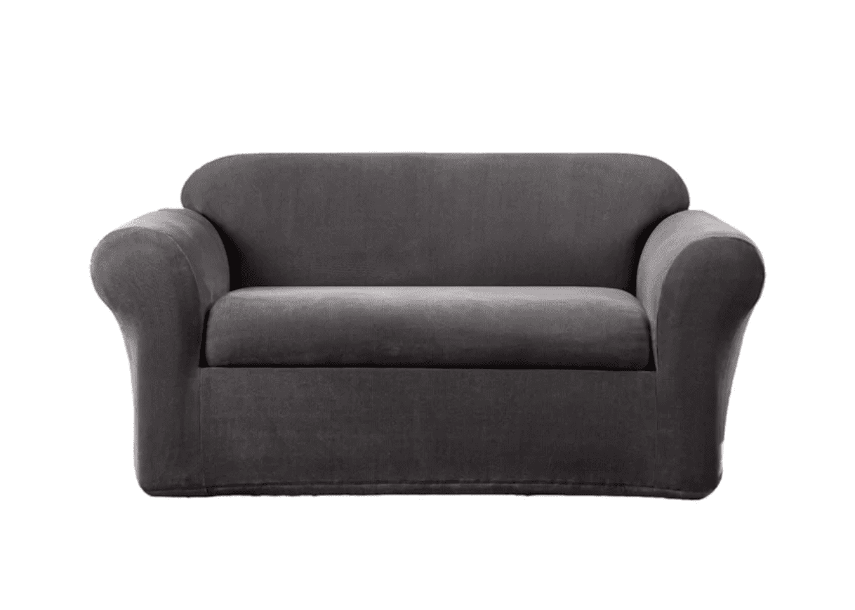 Best Overall Sure Fit Stretch Metro Box Cushion Sofa Slipcover