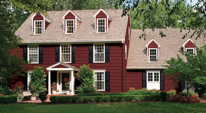 Benjamin Moore Farmhouse paint color scheme