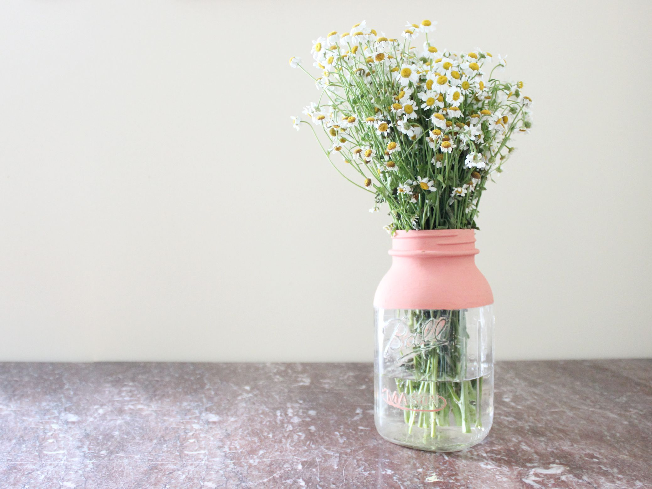 How To Paint Mason Jars With Chalk Paint