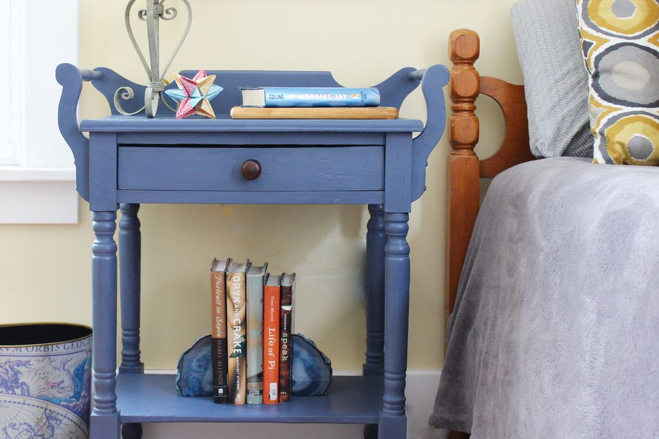 chalk paint end tables