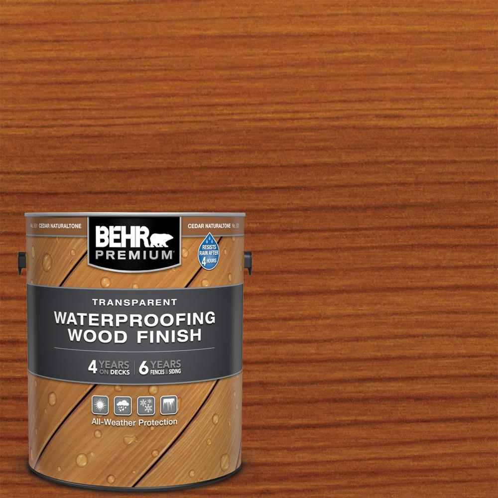BEHR Premium Exterior Wood Stain and Sealer