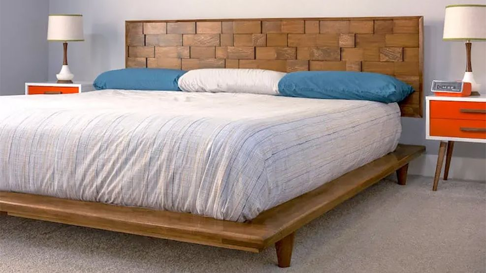 22 Diy Bed Frames You Can Build Right Now, Upholstered Queen Bed Frame Diy