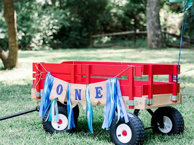 wagon ride for a one year old