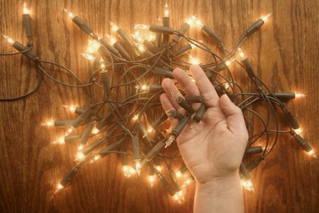 how repair your christmas mini lights
