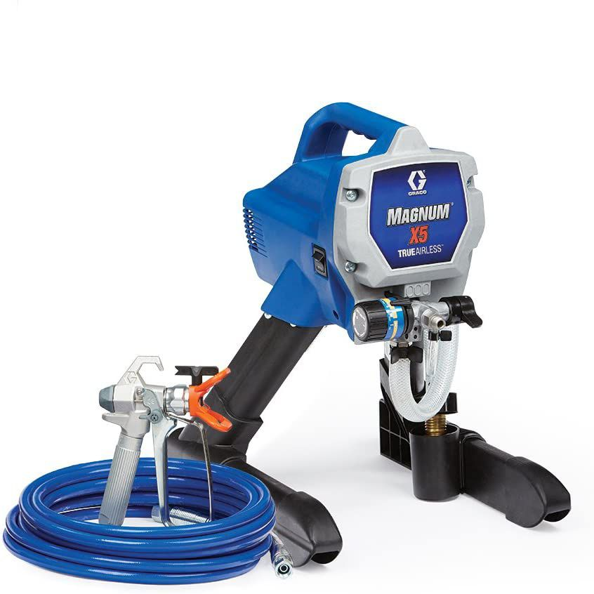 Graco Magnum 262800 X5 Stand Airless Paint Sprayer, Blue