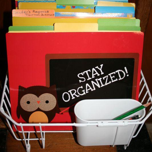 Hack de organización de regreso a la escuela