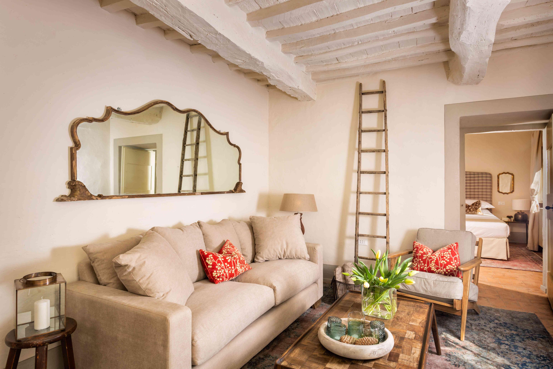 Tuscan living room.