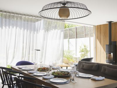 How To Soften Your Dining Room With Curtains Or D
