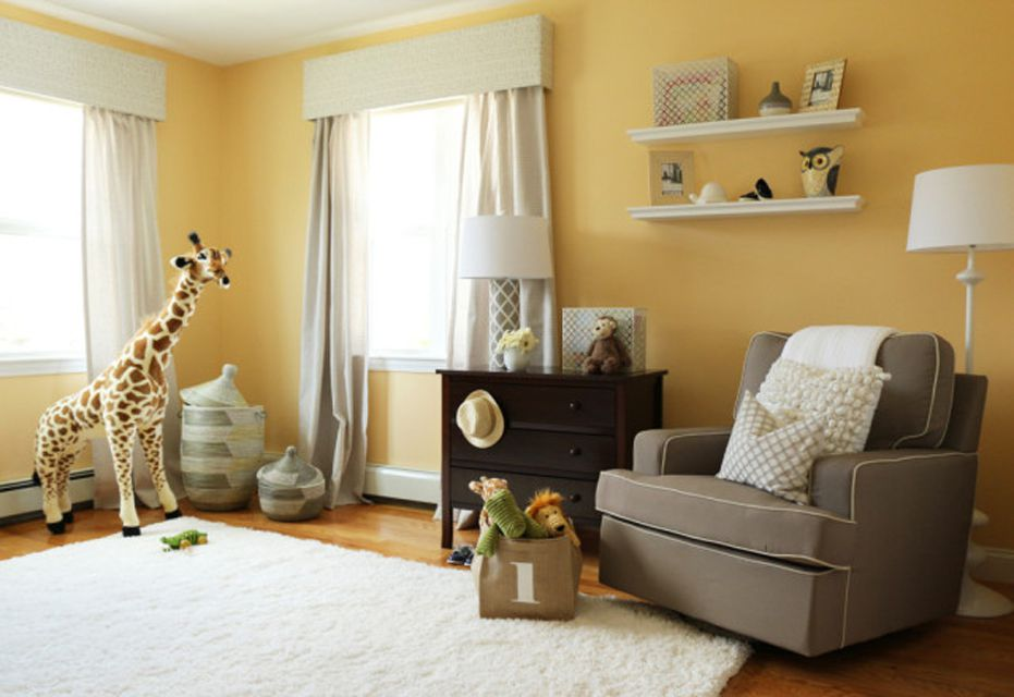 Neutral yellow nursery