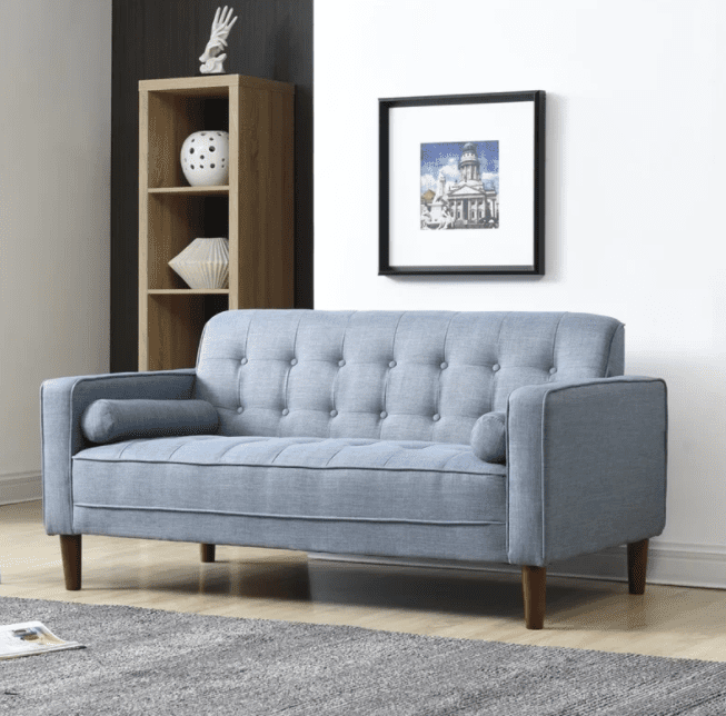 the 7 best sofas for small spaces to buy in 2018. Black Bedroom Furniture Sets. Home Design Ideas