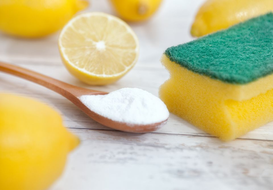 Lemons and baking soda