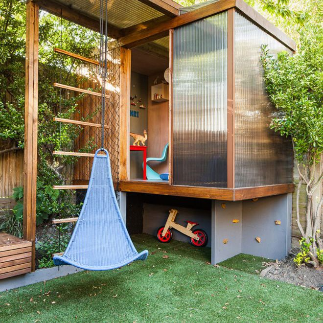 Modern contemporary play house