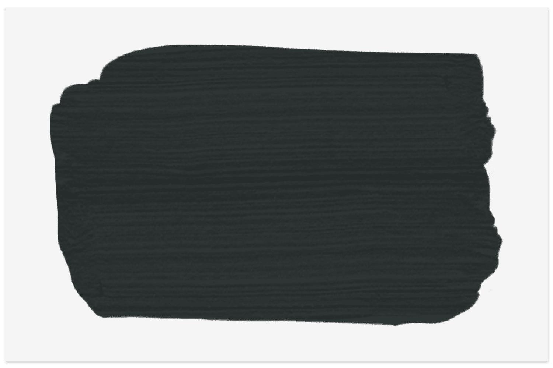 Black Blue swatch from Farrow & Ball
