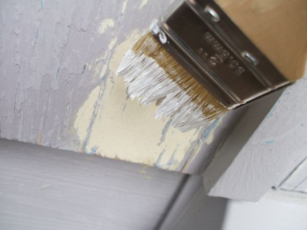 Fix Peeling Paint - Priming Wood Filler