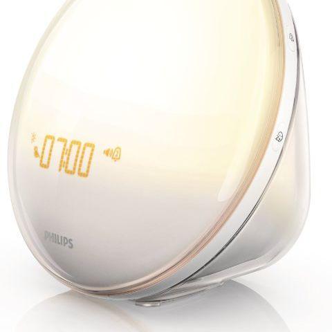 Philips HF3520 Wake-Up Light With Colored Sunrise Simulation, White