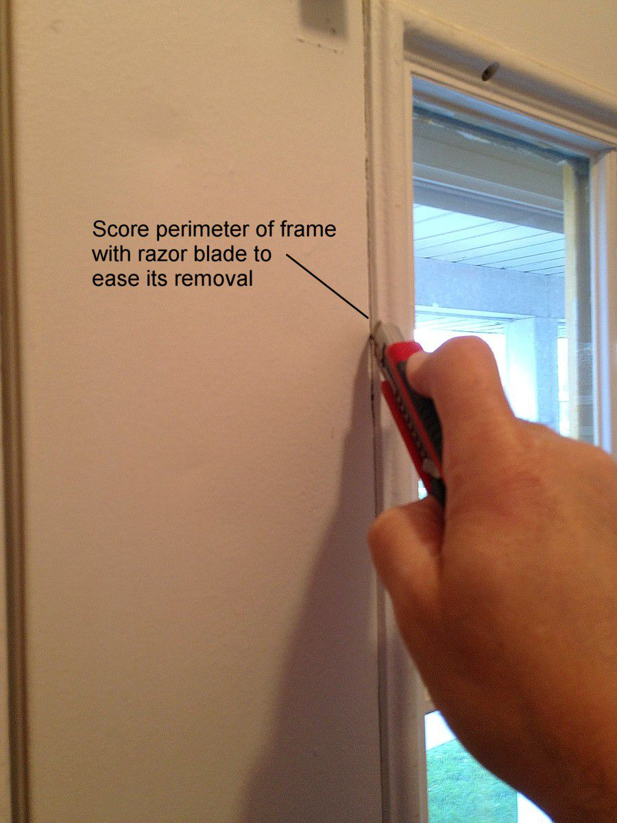 How to Replace a Glass Frame in an Exterior Door