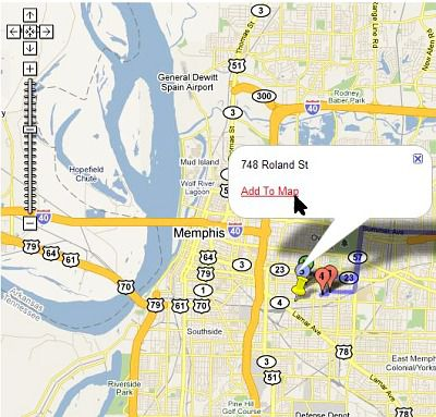Mapping A Yard Sale Route With Yard Sale Treasure Map - Yard mapping program