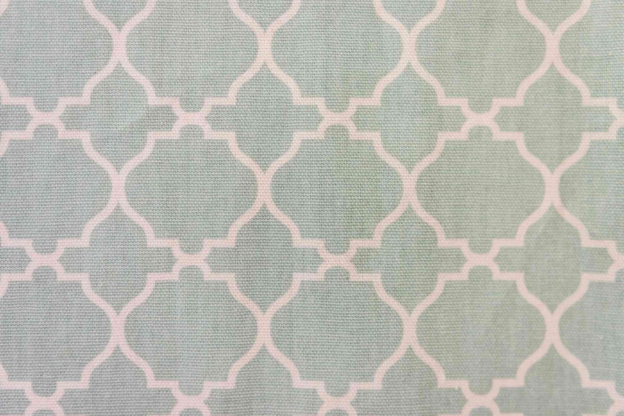 Trellis patterned fabric