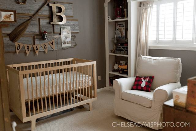 21 Rustic Woodland Themed Nurseries