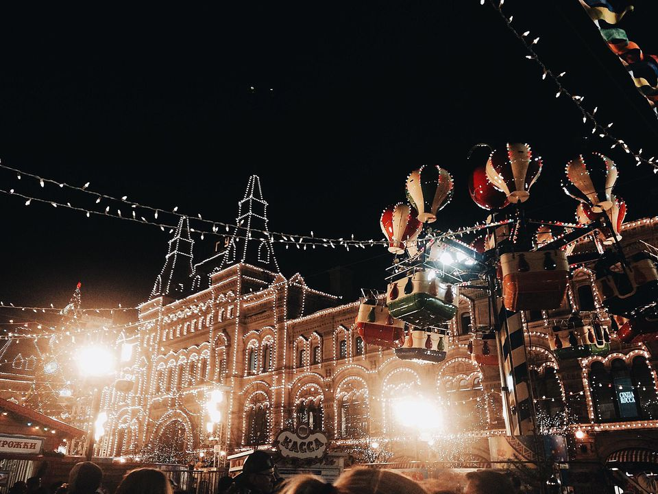 Christmas Decoration at Red Square