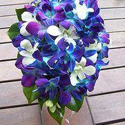 Blue Teardrop Bouquet