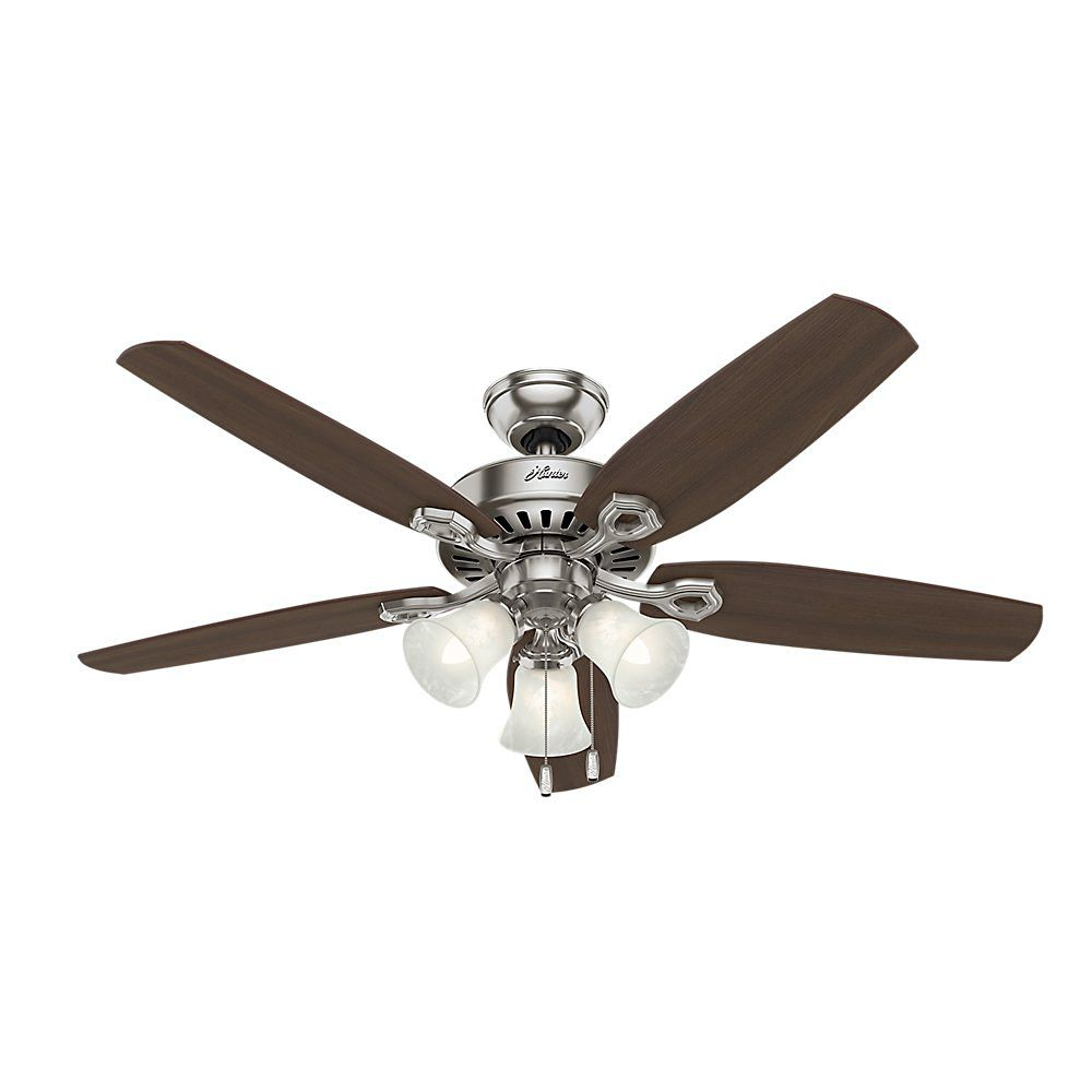 Best For Large Es Hunter 53237 Builder Plus Ceiling Fan