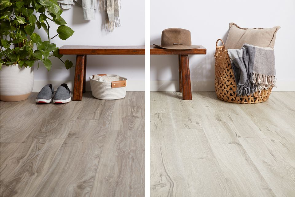 Luxury Vinyl vs. Standard Vinyl flooring
