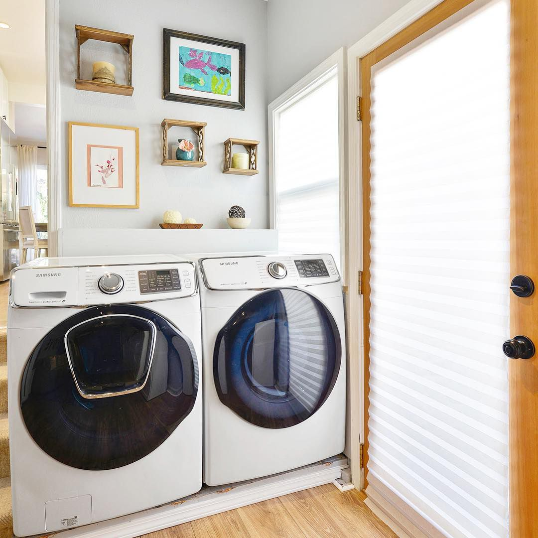 Ideas for Small Laundry Rooms and Closets