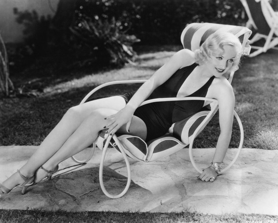 carole lombard in swimsuit