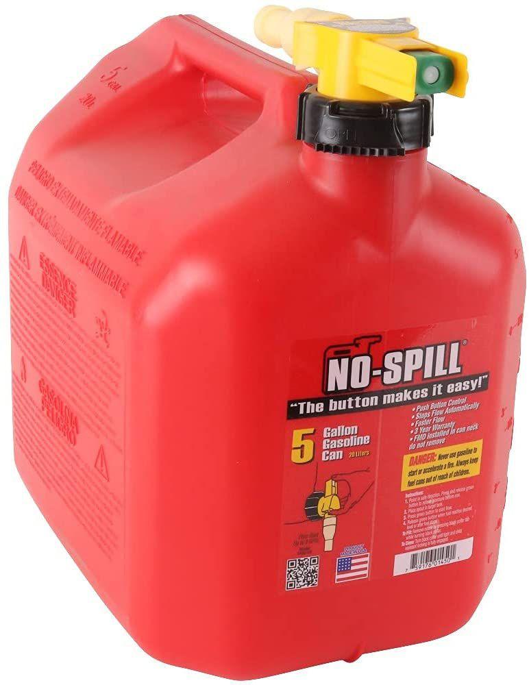 No-Spill 1450 5-Gallon Poly Gas Can
