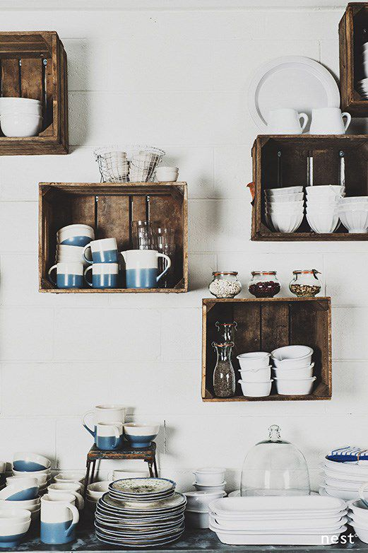25 Ways To Decorate With Wooden Crates