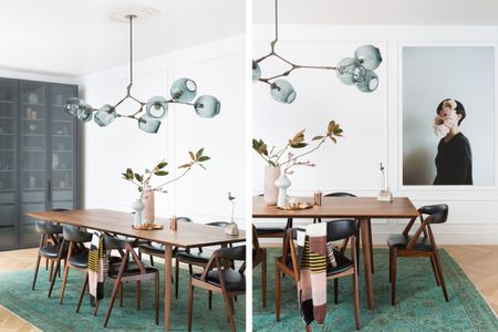 dining room dining room light fixtures. Branch Chandelier. Lindsey Adelman Branching Chandelier. Regan Baker  Design. In This Impossibly Chic Dining Room Light Fixtures O