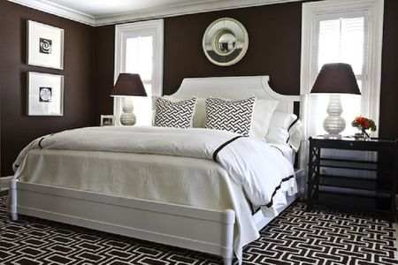 Decorating Ideas for Dark Colored Bedroom Walls