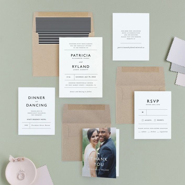 The 6 Best Places To Request Free Wedding Invitation Samples