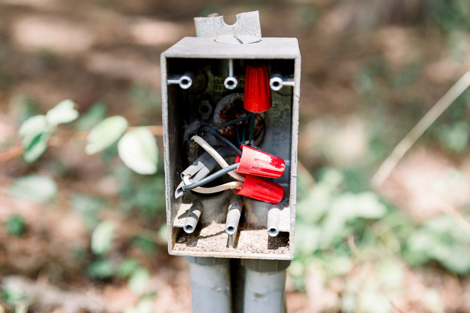 junction box outdoors