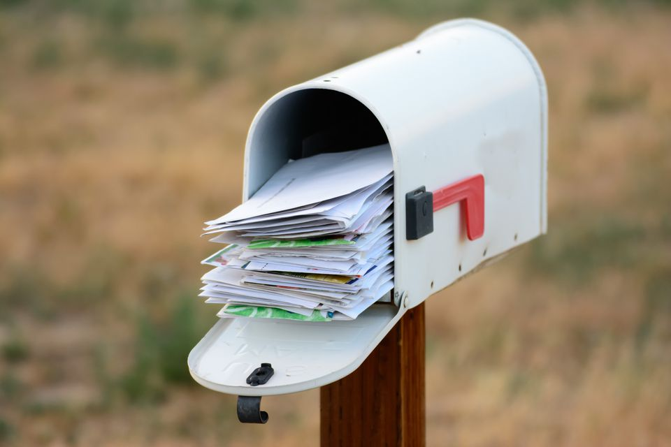 Overflowing Mailbox