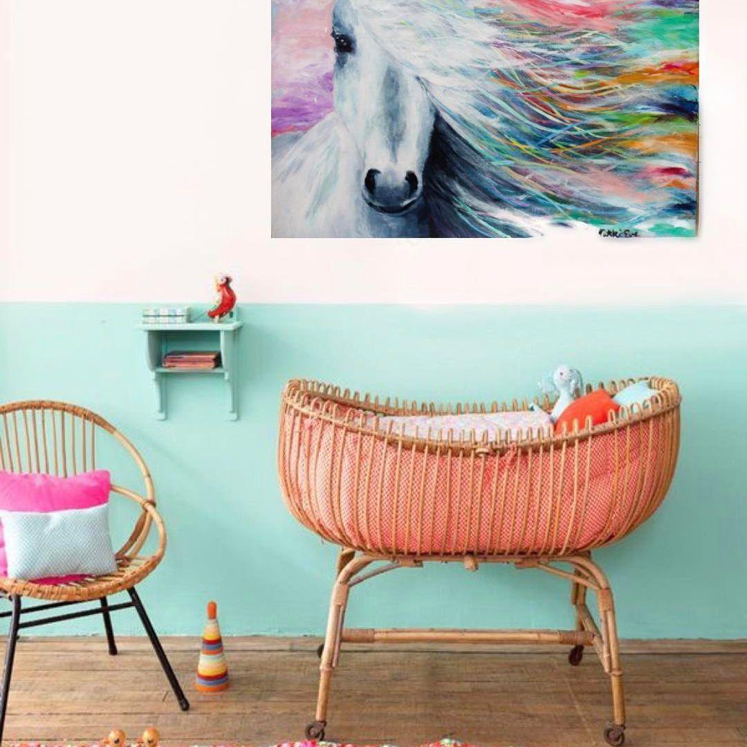 Vivero colorido inspirado en el colorido vivero