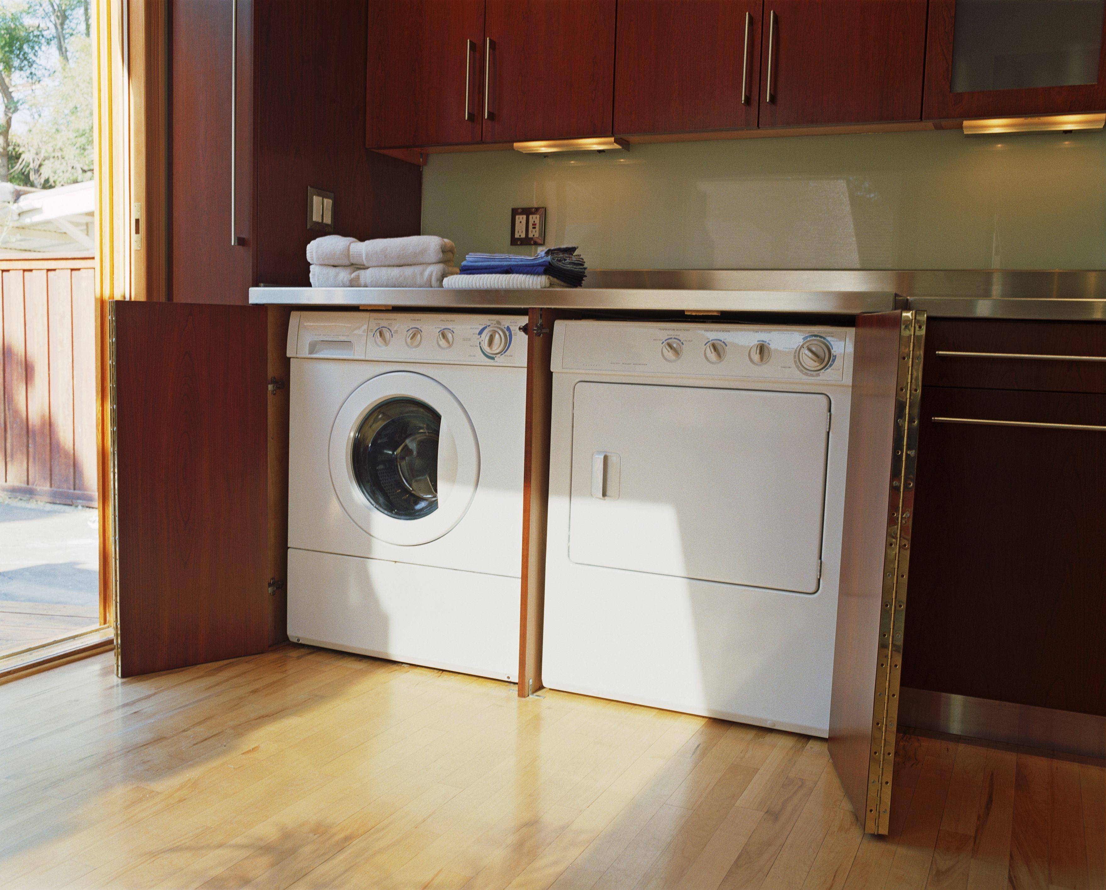 Best Of Washer Dryer In Bathroom Layout