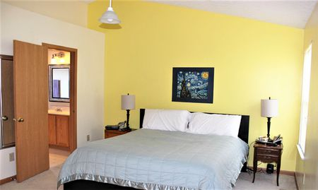 Yellow Bedroom Before Makeover