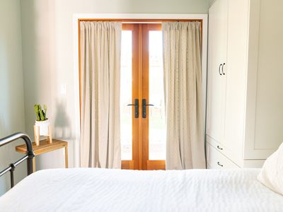 drapes in a bedroom